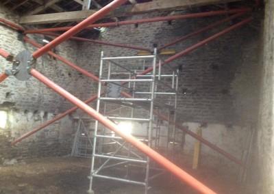 Temporary steel frame, Bolton Abbey-3