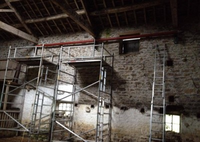 Temporary steel frame, Bolton Abbey-4