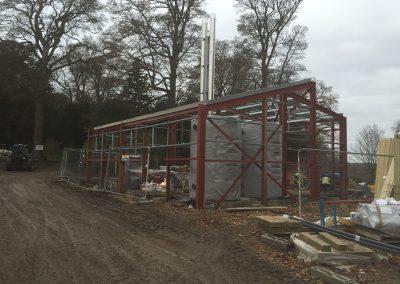 Wood Chip Boiler House