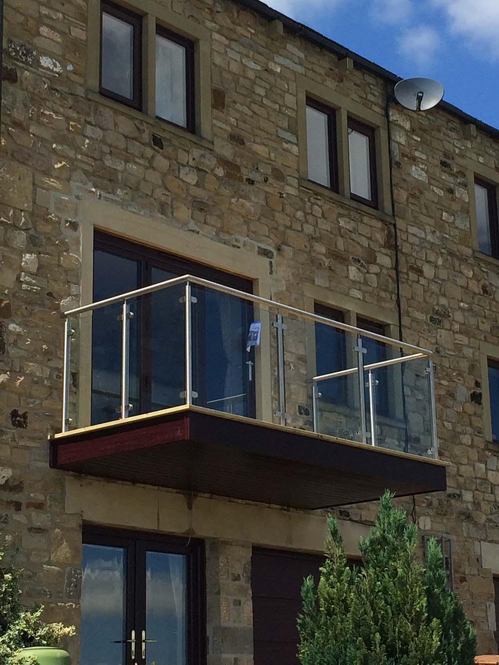 House Balcony in Cononley   Butterfield of Skipton