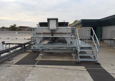 Removal of existing Butterfields-Roof-Plant-3